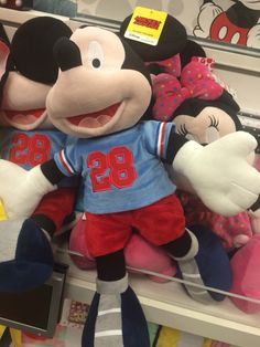 Mickey Mouse athlete stuffed animal