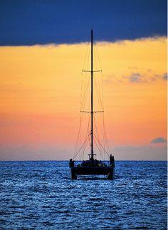sailing sunset hawaii By longbachnguyen Flickr