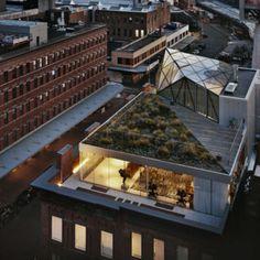 Living roof.