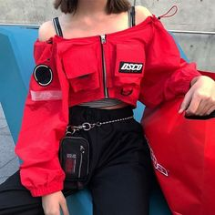 Korean Fashion Trends you can Steal – Designer Fashion Tips Edgy Outfits, Mode Outfits, Korean Outfits, Grunge Outfits, Grunge Fashion, Fashion Outfits, Womens Fashion, Fashion Trends, Korean Clothes