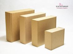 Cardboard boxes for any occasion! Flat-Pack (easy to assemble) Kraft Boxes Easy-to-use Gift Boxes With Lids, Small Gift Boxes, Box With Lid, Wax Paper, Paper Craft, Planner A5, Happy Planner, Shipping Box Sizes, Free Shipping