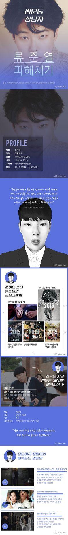 쌍문동 상남자 류준열, 그의 모든 것 [카드뉴스] #Drama / #Cardnews ⓒ 비주얼다이브 무단 복사·전재·재배포 금지