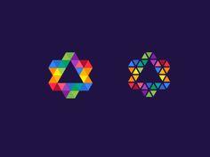 Star by Artission Identity Design, Brand Identity, Logo Branding, Logo Design, Negative Space Logos, Star Logo, Star Designs, Invite Your Friends, Stationery Design