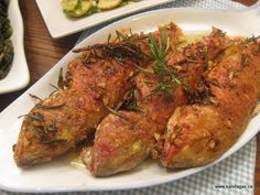 """the """"savoro"""" is a traditional dish made from fish with a white vinegar, garlic and spices sauce."""