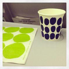 #Marimeko paper products on #Finnair