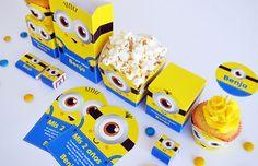 TODO BONITO Kits para imprimir y decorar tu fiesta. http://charliechoices.com/todo-bonito/