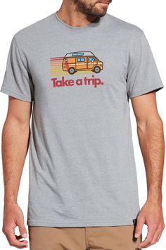 Alpine Design Men's Graphic T-Shirt, Size: Small, Alloy/Retro Van Graphic, Fabric Design, Shirt Designs, T Shirt, Van, Outdoors, Explore, Retro, Mens Tops