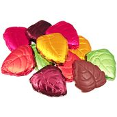 Milk Chocolate Autumn Leaves Candy: 5LB Bag