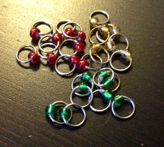 CROCHET/KNIT HACK | make your own snagless stitch markers - DIY   ✿⊱╮Teresa Restegui http://www.pinterest.com/teretegui/✿⊱╮
