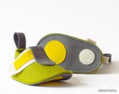 идея изготовления детских сандалей из фетра
