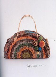 An easy way to make a T-shirt yarn bag DIY Bag and Purse Crochet Handbags, Crochet Purses, Tapestry Crochet, Crochet Yarn, Crochet Hooks, Tee Shirt Fila, Tshirt Garn, Yarn Bag, How To Make Tshirts