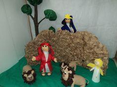 Trimestral Criativa: História de Daniel na cova dos leões