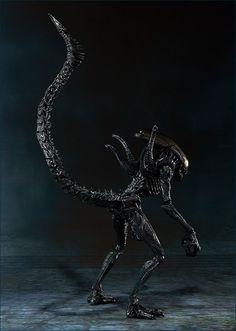 S.H.MonsterArts エイリアン ウォーリア アクション&ギミック03