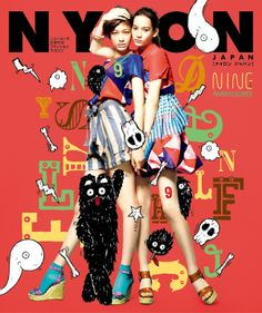 ART WORK for NYLON JAPAN 9th anniversary exhibition