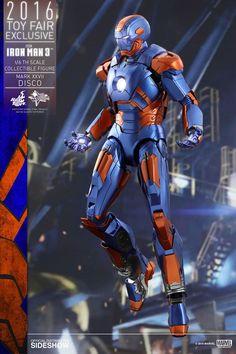 SDCC Iron Man Mark XXVII Disco Sixth Scale Figure Iron Man 3 Hot Toys
