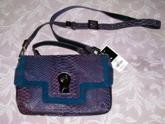Come check out my currently FOR SALE inventory!!! www.bonanza.com/booths/ForSalebyDelia   BNWT Juicy Couture Snake print Cross Body *RARE BEAUTY* is just ONE of my FABULOUS items!!