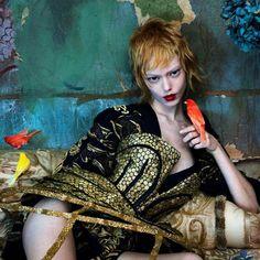 Ondria Hardin by Mert Alas & Marcus Piggott, 2013.