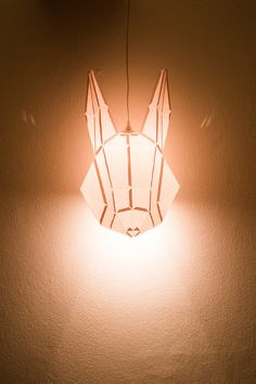 Rabbit Large  do it yourself paper lampshade by mostlikelyShop, €35.00
