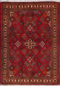 "Abadeh Persian Rug, Buy Handmade Abadeh Persian Rug 3' 11"" x 5' 11"", Authentic Persian Rug $930.00"