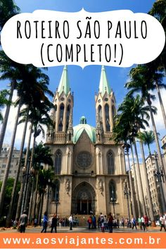 Vou mostrar um pouco da cidade de São Paulo em seus principais pontos turísticos em um roteiro de 4 a 6 dias na cidade de São Paulo. Já aviso que é o melhor roteiro porque São Paulo para mim é turismo e quase minha segunda casa! São Paulo tem de tudo, para todos os gostos!