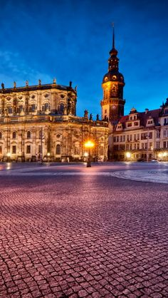 Dresden, Germany - it's crazy to think that I actually stood in this very square, even crazier to think that it's been over a year.
