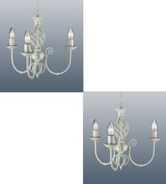 5 arm barley twist classic ceiling light fitting pendant chandelier pair classic barley twist 3 arm chandelier ceiling pendant light fitting cream mozeypictures Images