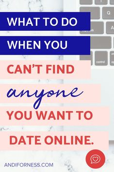 What to do when dating online