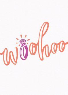 Woohoo | Personalised Congratulations Card