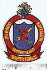 USMC 2nd Radio Battalion PATCH MarForLant Marines RARE! Communications 2d Rad Bn