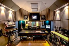 Main Control Room at Black Wookie Studios featuring a Amek Angela Mixing Desk.