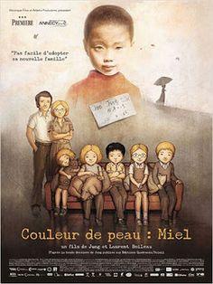 """TICs en FLE: Un film sur l'adoption : """"Couleur de peau : Miel"""" (2012)"""