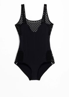 & Other Stories--Cut-Out Swimsuit
