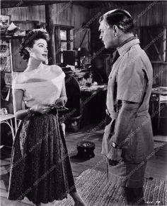 photo Clark Gable Ava Gardner film scene Mogambo 1407-19