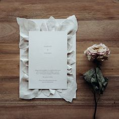 Fabric isn't just for dresses! Minimal Wedding, Place Cards, Wedding Invitations, Place Card Holders, Simple, Fabric, Prints, Dresses, Tejido