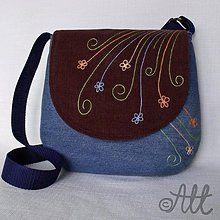 Kabelky - Kvietková s klopou - 3768352_ Thing 1, Saddle Bags, Purses, Farmer, Fashion, Handbags, Moda, Fashion Styles, Farmers