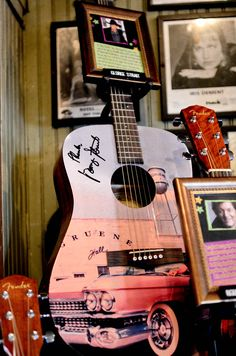 George Strait Guitar at the Great Guitar Auction 2013  http://gruenemusicandwinefest.org/