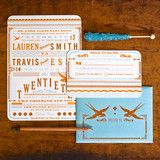 Hammerpress wedding invitations