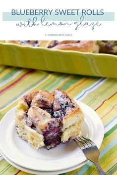 These sweet and fluffy Blueberry Sweet Rolls are made with homemade fresh blueberry preserves and topped with an easy and delicious lemon glaze! This indulgent breakfast or brunch recipe is PERFECTION! #sweetrolls #breakfastrecipes #brunchrecipes #blueberrylemonrecipes #homemade #brunch #fresh #blueberry #lemonglaze Blueberry Lemon Recipes, Blueberry Sweet Rolls, Brunch Recipes, Breakfast Recipes, Coffee Cake Muffins, Instant Yeast, Sweet Bread, Preserves, Pastries