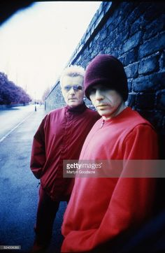 Ian Astbury and Billy Duffy of The Cult, portrait, London, United Kingdom, 1997.