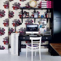 Modern-floral-home-office.jpg (550×550)