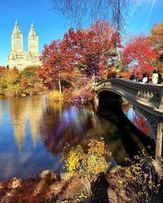 Bow Bridge, Central Park by Scott Lipps @scottlipps - New York City Feelings