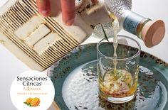 Sensaciones Cítricas a 4 Manos • Los Chefs Alejandro Ruiz de Guzina Oaxaca + Azari Cuenca de Terré • Tepache de Cardamomo, Piña, Cilantro y Cebolla Armonizado con Tequila Tres Generaciones Plata