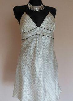 Kup mój przedmiot na #vintedpl http://www.vinted.pl/damska-odziez/bielizna-inne/13047078-autograph-biala-czarna-koszulka-nocna-krotka-40
