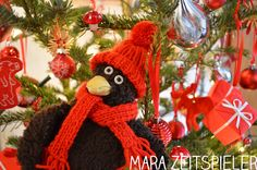 Erwin und der Weihnachtsbaum.