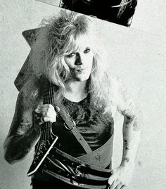 Chris Holmes in W.A.S.P. #ChrisHolmes #wasp #MeanMan