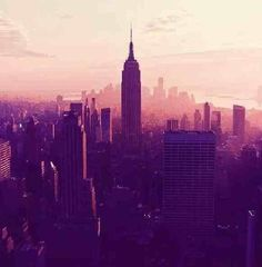 New York the city of my dreams...