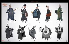 Torsten Schrank has worked as Character Design Supervisor for the animated movie Klaus, produced by The Spa Studios and Netflix. Character Concept, Character Art, Concept Art, Character Reference, Klaus Movie, Dan Norton, Eliot Kid, Sergio Pablos, Kevin Dart