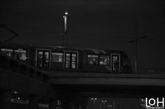 Fotografía: #Madrid #Fotografía de Luis Otero Huarotte / #España #Spain #metrodemadrid #photography #train #bridge #puente #tren #transport #transporte