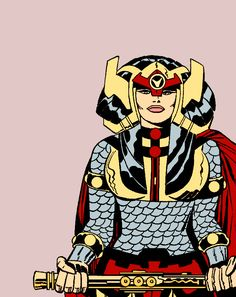 Big Barda in Mister Miracle Vol. Comic Book Girl, Comic Book Artists, Comic Book Characters, Comic Artist, Comic Character, Comic Books Art, Anime Comics, Dc Comics, Jack Kirby Art