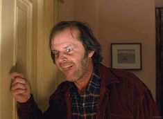 The Shining is a 1980 psychological horror film produced and directed by Stanley Kubrick with legendary Jack Nicholson in main role as Jack Torrance. Anim Gif, Gif Animé, Animated Gif, Stanley Kubrick, Scary Movies, Good Movies, Awesome Movies, Black And White Tumblr, Jack Nicholson The Shining